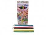 """Набор цветных карандашей """"Девочка"""" 12 цветов"""