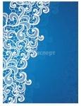 Ежедневник недатированный BUROMAX LACE A5 синий