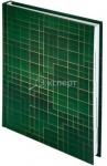 Ежедневник недатированный BUROMAX MATRIX A5 зеленый