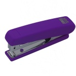 """Степлер №10 """"RUBBER TOUCH"""" 4128 (до 12 листов), фиолетовый"""
