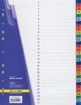 Индекс-разделитель BUROMAX A4 1-31(31позиция) пластик ассорти