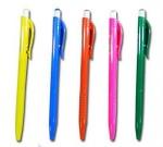 Ручка шариковая автоматическая TZ 1077, синяя