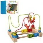 Деревянная игрушка Лабиринт-счеты