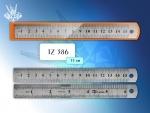 Линейка металлическая 15 см TZ 386