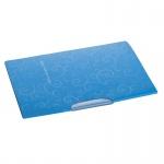 Папка-скоросшиватель BAROCCO 3303-14 с поворотным зажимом, голубая