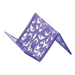 "Подставка для визиток BM6226-07 ""Barocco"", фиолетовая"