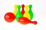 Боулинг детский пластмассовый