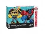 Краски пальчиковые Transformers 6 цветов