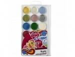 Краски акварельные 18 цветов Little Pony
