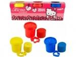 Набор цветного теста для лепки Hello Kitty, 3*75г