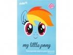 Набор цветного двухстороннего картона, А4 My Little Pony