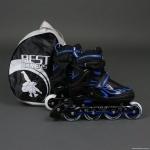 Ролики Blue - Best Rollers, размер 35-38