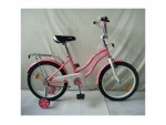 """Велосипед детский PROF1 Star 18"""", розовый"""
