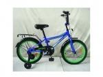 """Велосипед детский Top Grade 18"""", синий"""