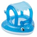 """Интекс: Плотик с навесом для малышей """"Морской Скат"""""""