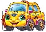 Мягкие машинки. Такси (р)