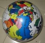 Мяч резиновый, Глобус 9''