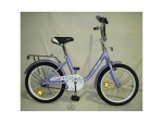 """Велосипед детский двухколесный 20"""" Flower, фиолетовый"""