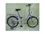 """Велосипед детский двухколесный 18"""" Flower, фиолетовый"""