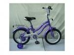 """Велосипед детский двухколесный 14"""" Star, фиолетовый"""