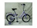 """Велосипед детский двухколесный 14"""" Flower, фиолетовый"""