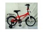 """Велосипед детский двухколесный 14"""" Top Grade, красный"""
