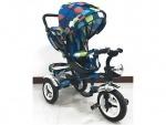Велосипед детский 3-х колесный, голубой