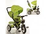 Велосипед детский 3-х колесный, зеленый