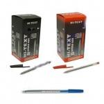 """Ручка шариковая Zebra fibracolor """"Hi-Text"""", черная 660"""
