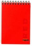 Блокнот А6 48 листов. в клеточку красный