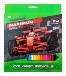 """Карандаши 24 цвета """"Maximum speed"""""""