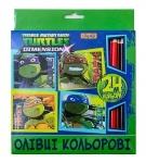 "Карандаши 24 цвета ""Ninja Turtles"""