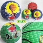 Мяч баскетбольный резиновый