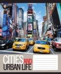 Тетрадь А5/60 клетка Urban Life