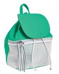 Сумка-рюкзак, зеленая