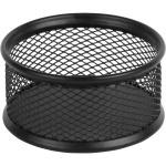 Подставка для скрепок металлическая, черная