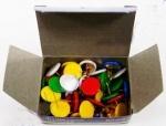 Кнопки пластиковые, цветные 5177
