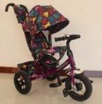 Велосипед трехколесный TILLY Trike, ФИОЛЕТОВЫЙ