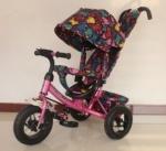 Велосипед трехколесный TILLY Trike, РОЗОВЫЙ