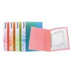 Папка-скоросшиватель А4, ассорти прозрачных цветов