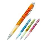 Ручка шариковая автоматическая Fiesta, синяя