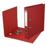 Папка-регистратор Prestige A4 с двусторонним покрытием, красный