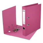 Папка-регистратор Prestige A4 с двусторонним покрытием, розовый
