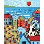 Картины по номерам - Яркий город