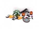 Игровой набор военного с каской