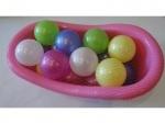 Игрушечная ванночка большая с шариками