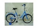 """Велосипед детский двухколесный 18"""" Flower, голубой"""