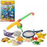 Рыбалка игрушечная - удочка с магнитом