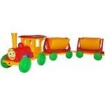 Поезд-конструктор, с прицепом