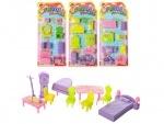 Набор мебели для маленьких кукол